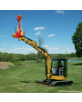 Mini-Excavator Model - Tall Posts